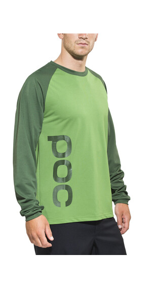 POC Flow Jersey Men molybdenite green/phosph green